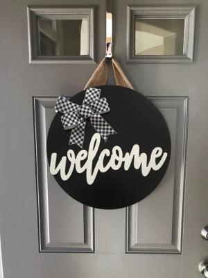 Kapı Süsü Hoşgeldin